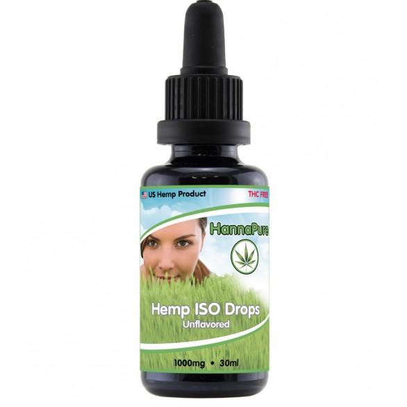 HannaPure ISO Drops - 1000mg