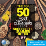Top 50 Most Powerful Cleansers For A Successful Summer Detox