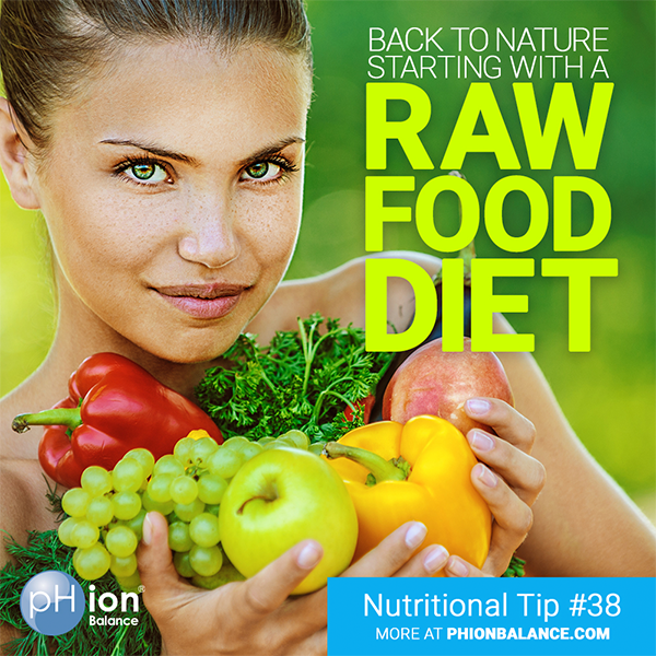 Getting Back to Nature with a Raw Food Diet