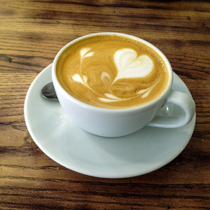 fall health - latte