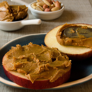 Unhealthy Habits Office - Apples and Peanut Butter