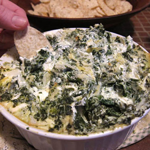 Winter Food - Artichoke Dip